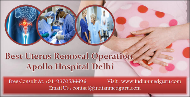 Best Uterus Removal Operation in India