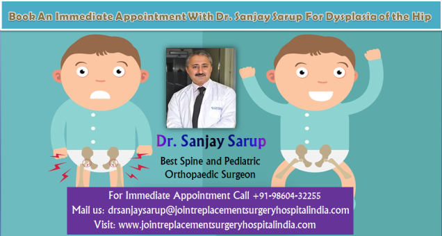 Dr. Sanjay Sarup best Pediatric Orthopedician in Gurgaon