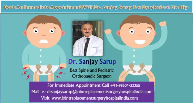 Dr. Sanjay Sarup best Pediatric Orthopedician in Gurgaon