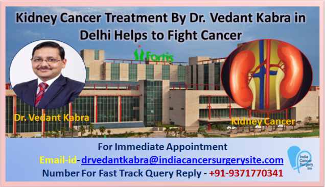 Kidney Cancer Treatment by Dr. Vedant Kabra in Delhi Helps to Fight Cancer
