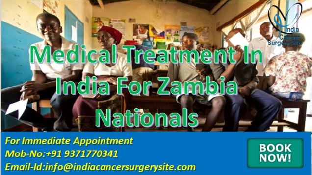 medical treatment in india for Zambia nationals
