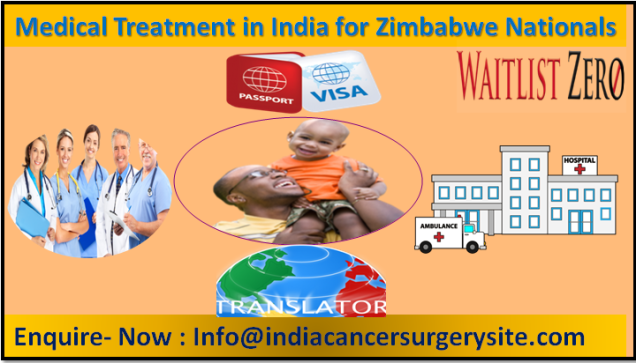 Medical Treatment in India for Zimbabwe Nationals